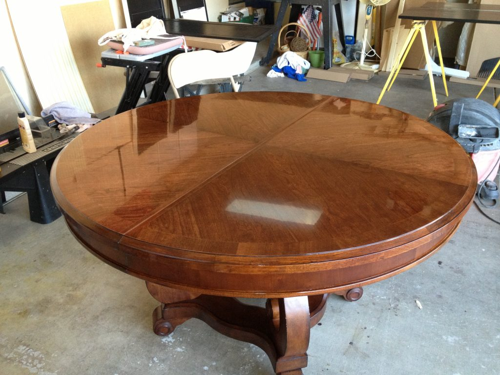 Butler dining table after
